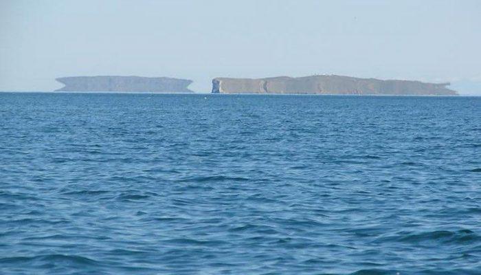 Мираж в море