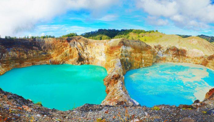Озера вулкана