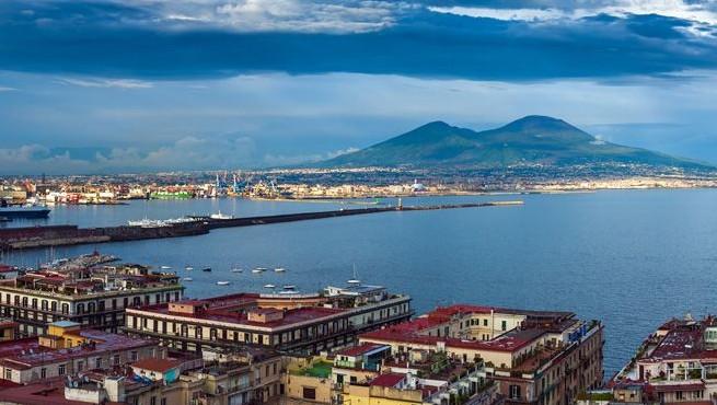Вид из Неаполя