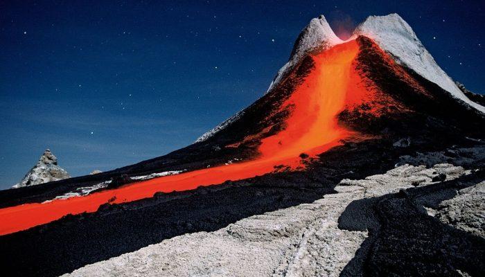 Крупнейшие вулканы Африки история описание и фото Вулкан ленгаи