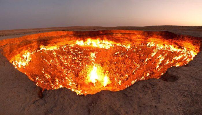Газовый кратер Дарваз