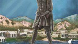Реконструкция статуи