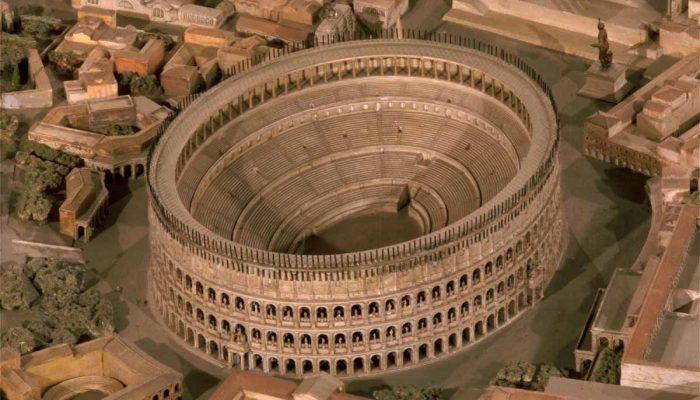 Колизей в древнем риме доклад 475