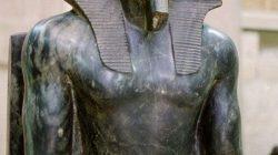 Статуи древнего египта