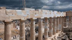 Храм Парфенон в Афинах