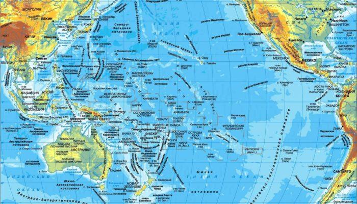 Схема течений мирового океана фото 640